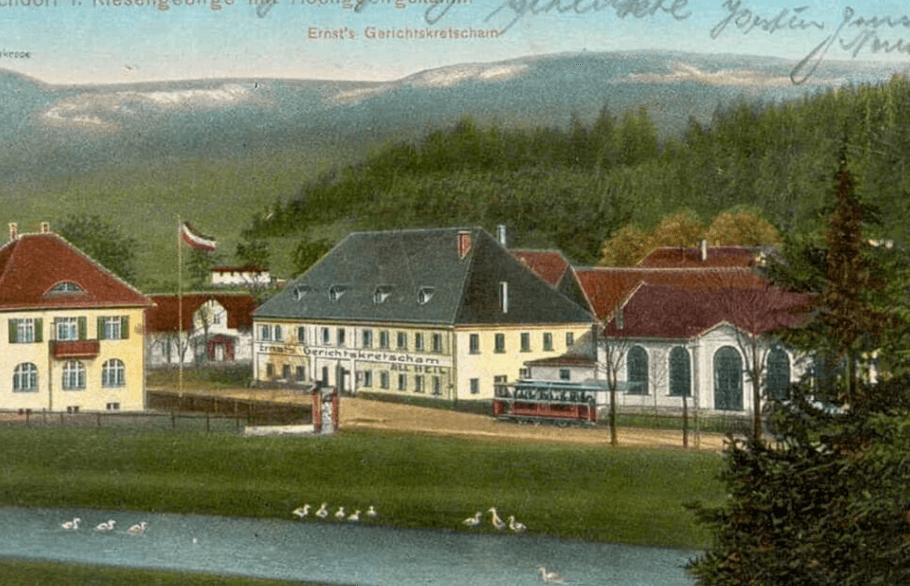 stare zdjęcie budynku